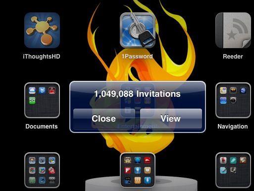 Invitation Alert