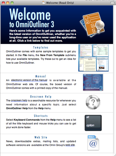 omnioutliner for the mac it is just an omnioutliner document with