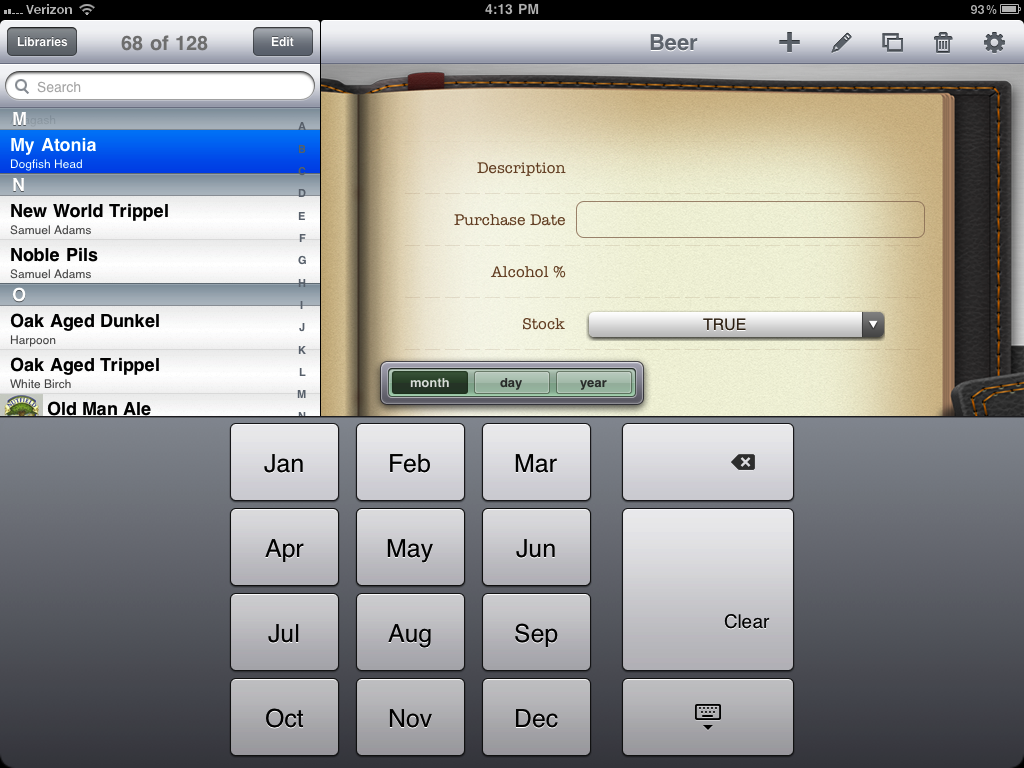 iPad Input