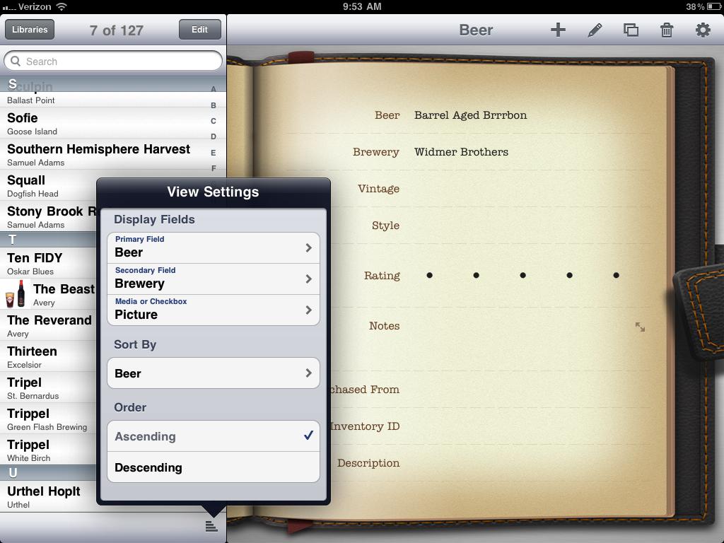 iPad List
