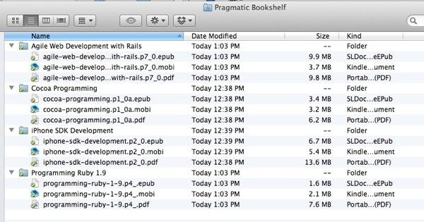 dropbox files