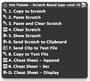 Scratch HUD