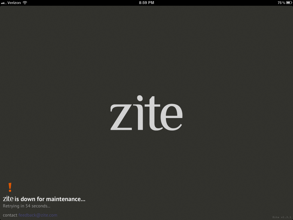 Zite Message