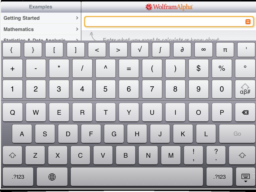 Wolfram Keyboard