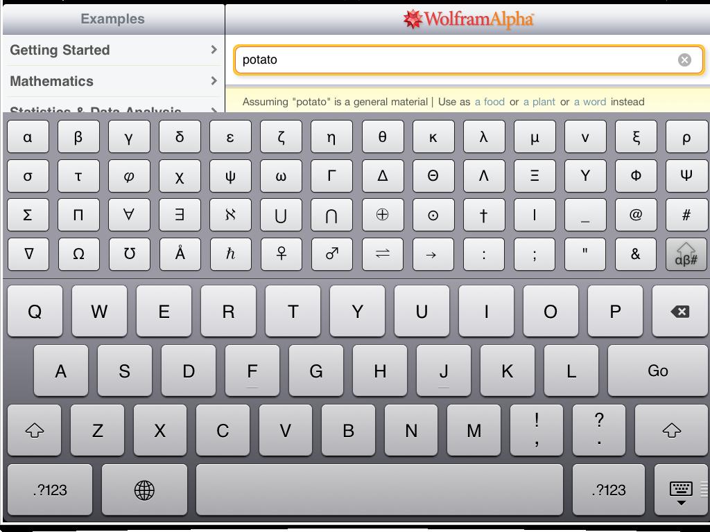 Wolfram Keyboard 2