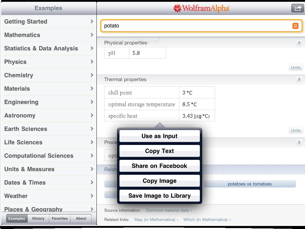 Wolfram Results