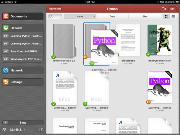 PDF Expert Document Management