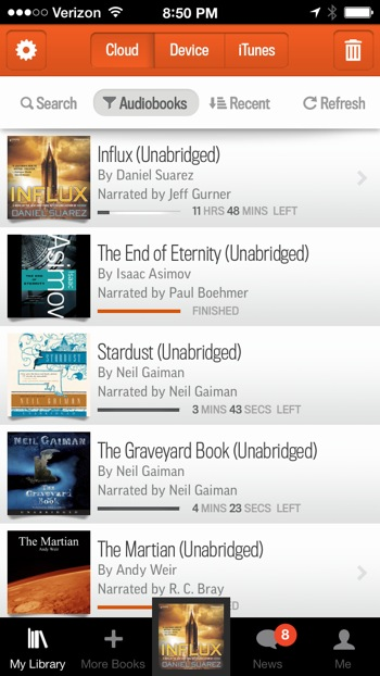 Get More Audible Books on iOS