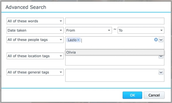 Synology as a Private Photo Sharing Service: A Visual