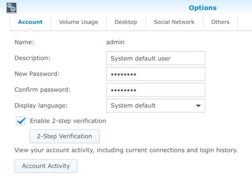Change the Synology Default SSH Port