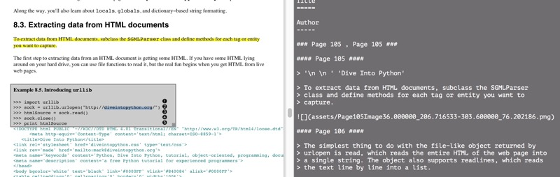 Highlights for Mac Turns PDF Annotations into Markdown
