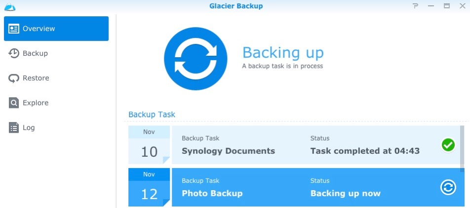 Backing Up a Synology NAS