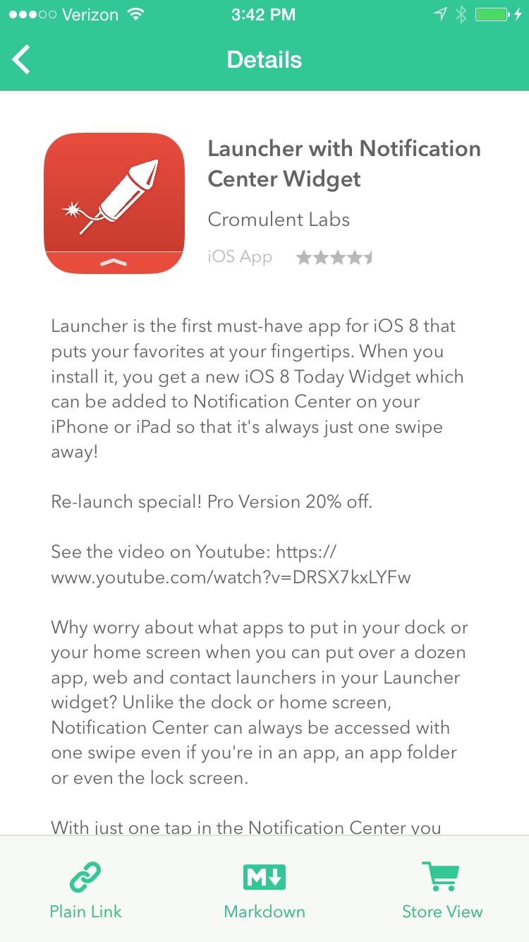Blink App Detail