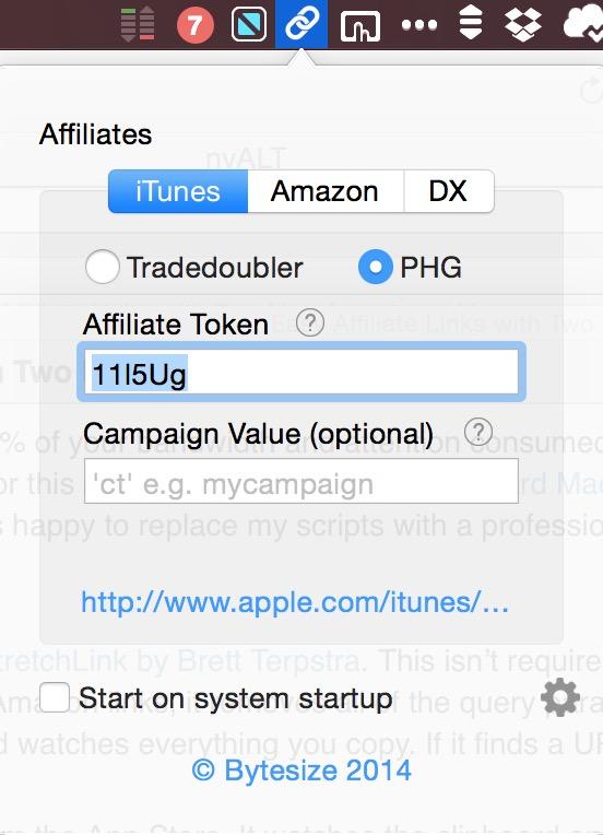 Affiliate App