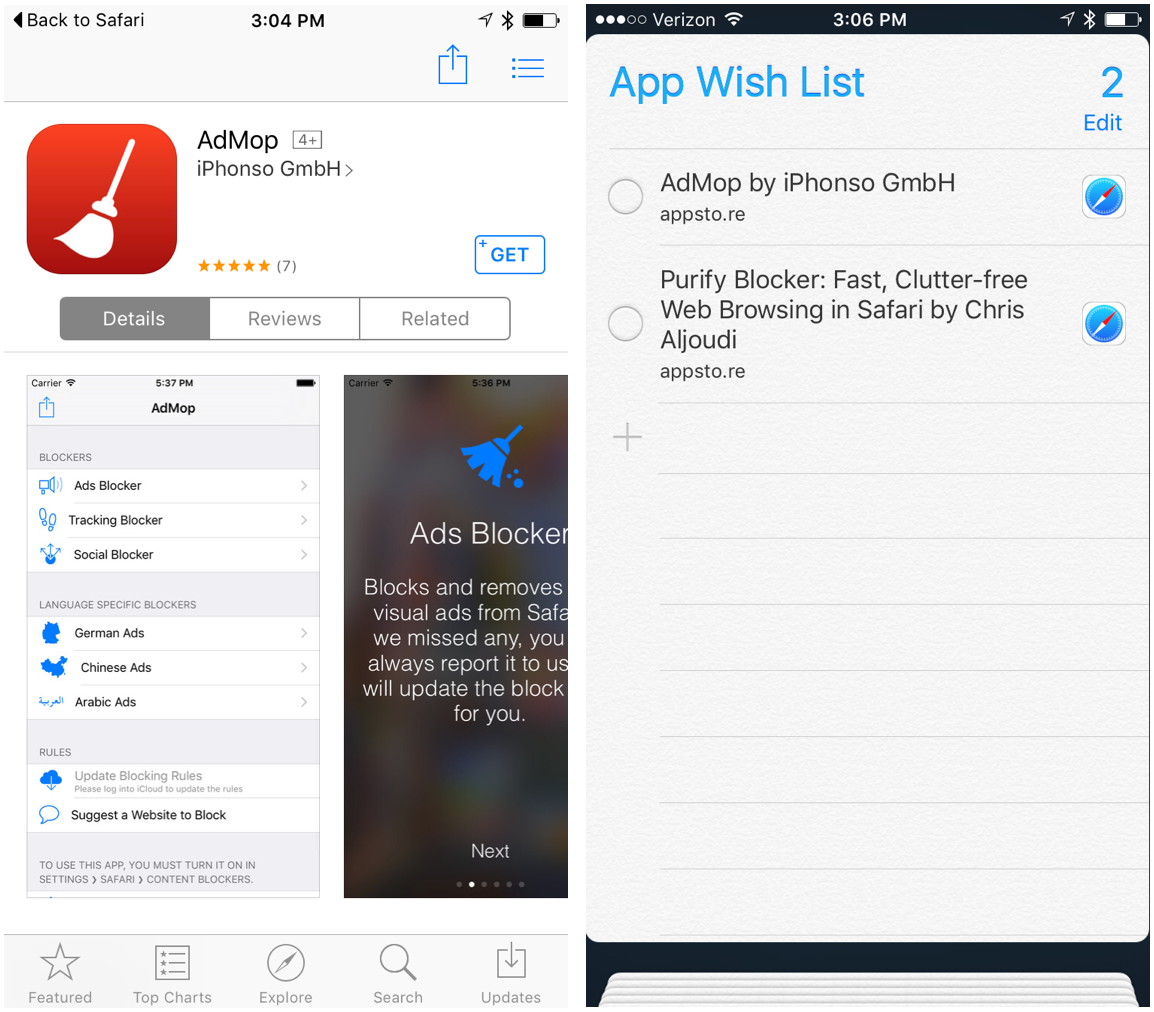 App Wish List