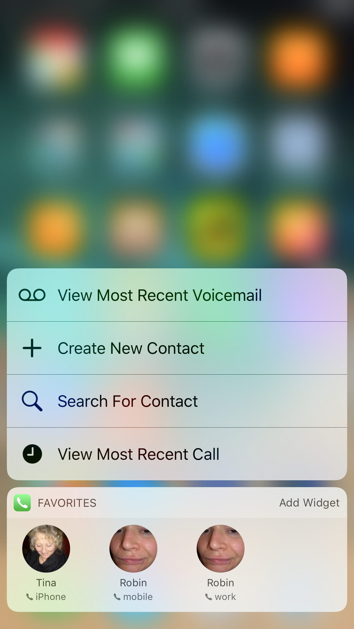 Phone 3D Touch