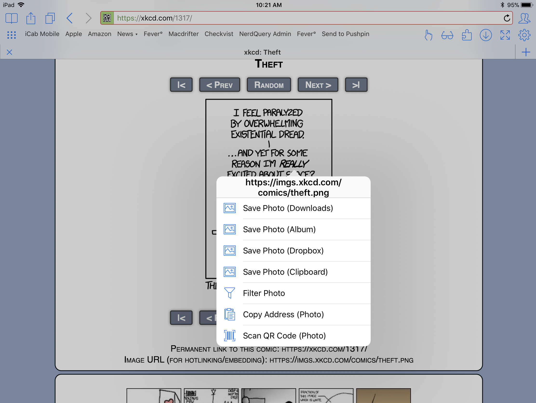 Saving iCab Downloads