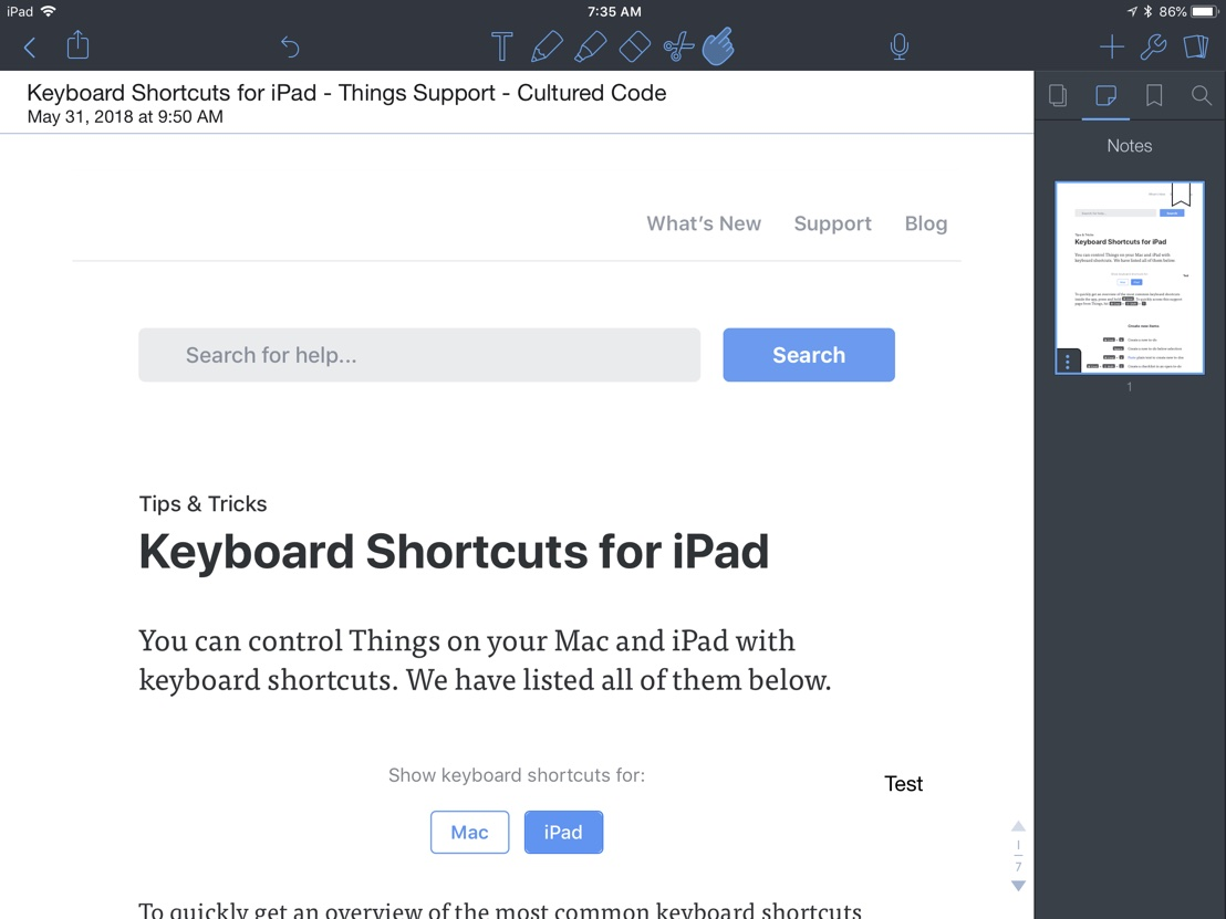 Notability Improvements and a Replacement for GoodNotes